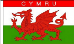 Wales (Cymru) Boat / Courtesy Country Flag